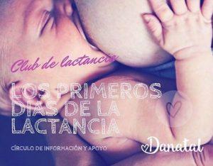Club de lactancia: como sobrevivir al primer mes @ Danatal Residencial victoria